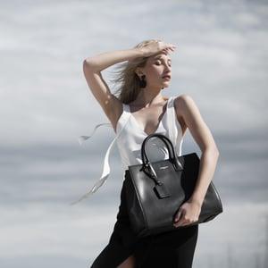 Image of Anita Tote - Black