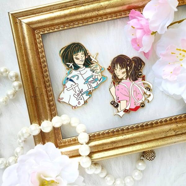 Image of Haku & Chi Pin Set