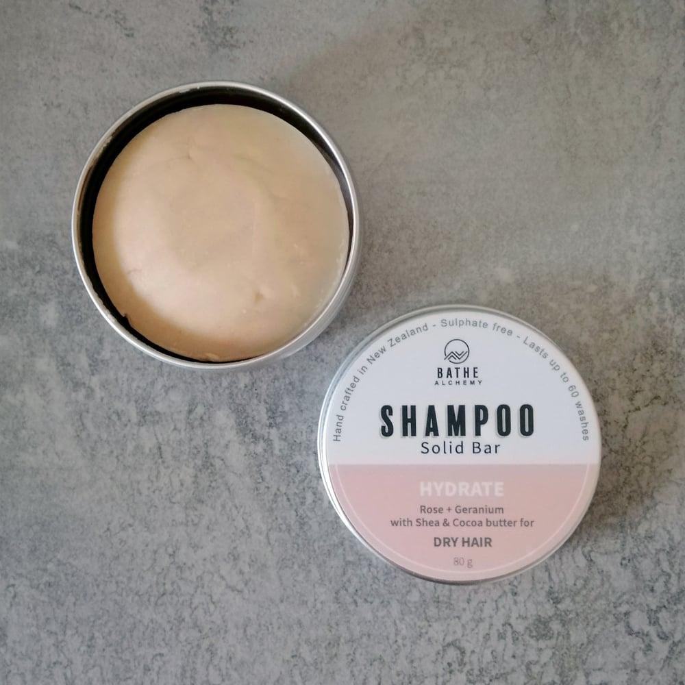 Image of Bathe Alchemy Solid Shampoo bar- Hydrate