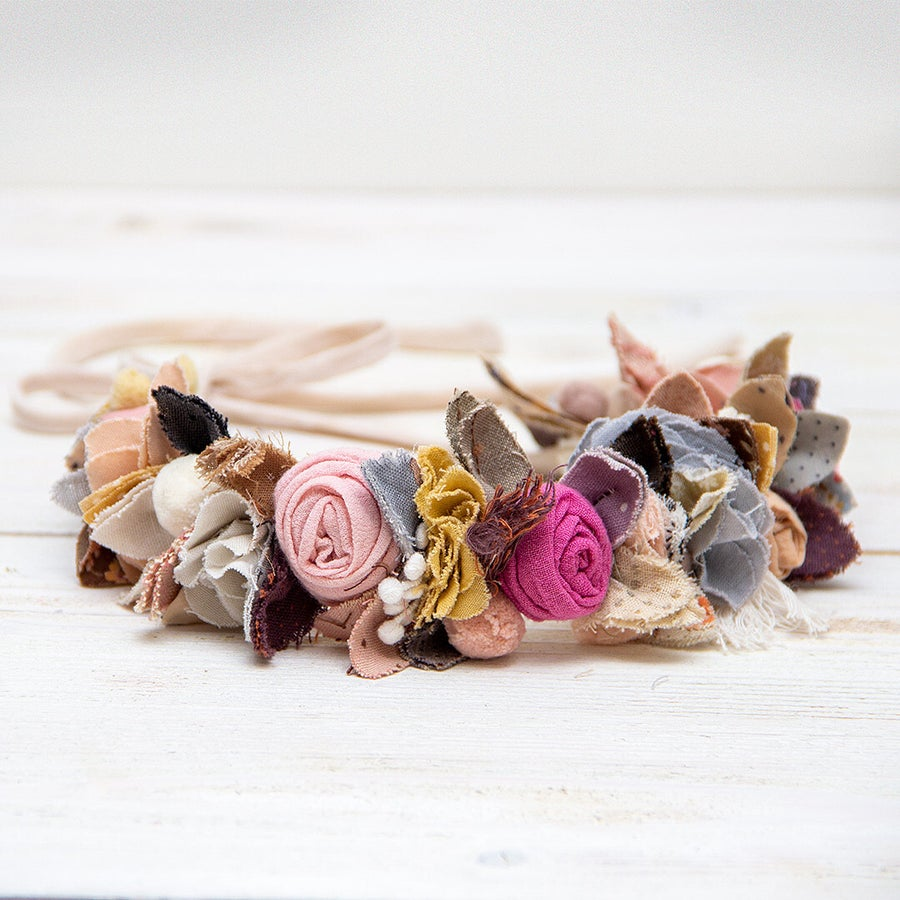 Image of Boho flower headband