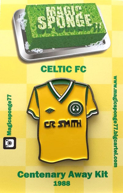 Image of Out Now Celtic FC Centenary Away Kit Pin