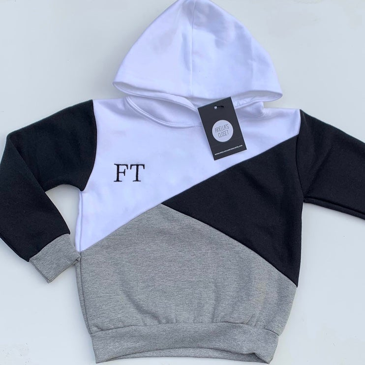 Image of EMBROIDERED CONTRAST HOODIES