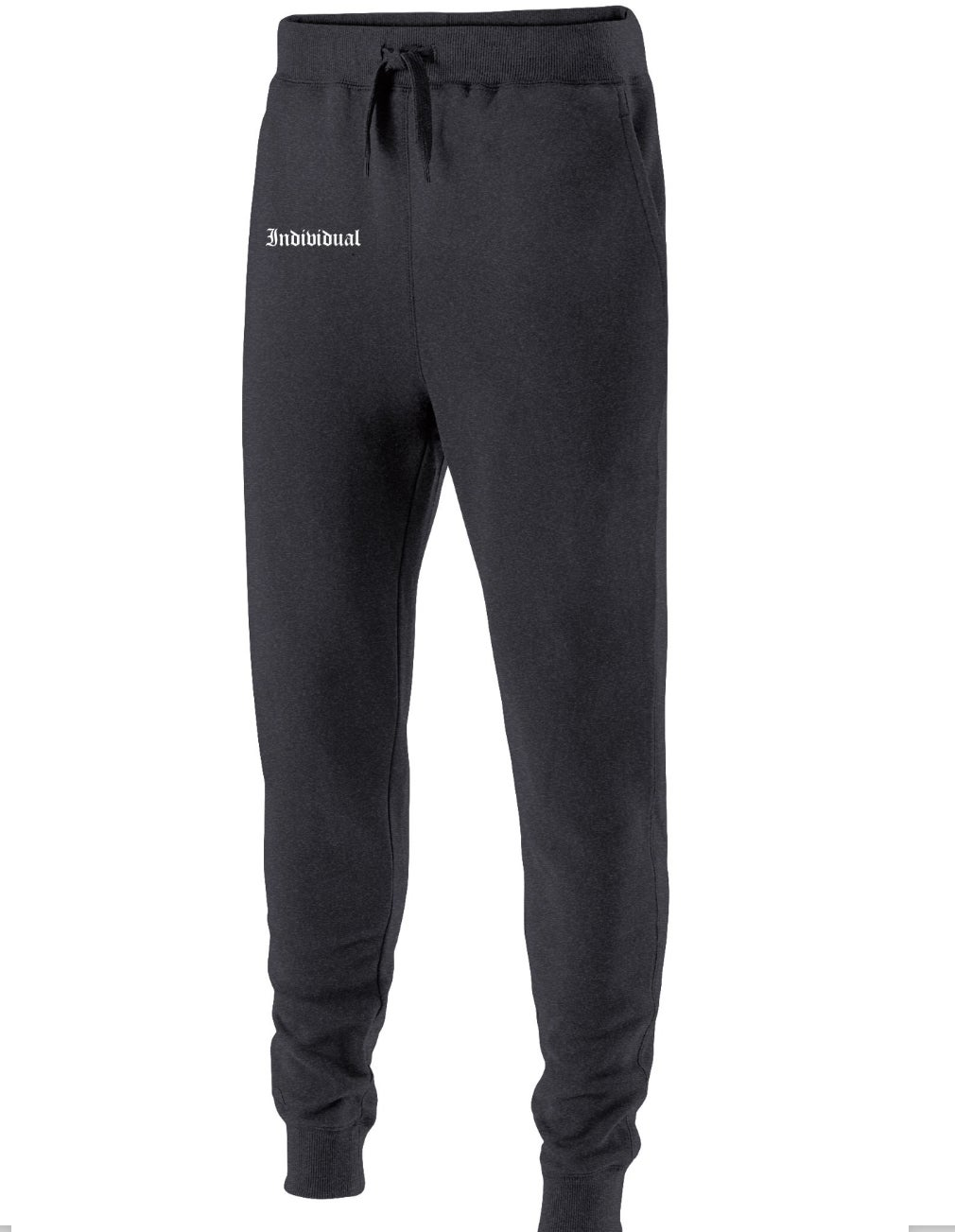 Image of INDI Fleece Joggers Black