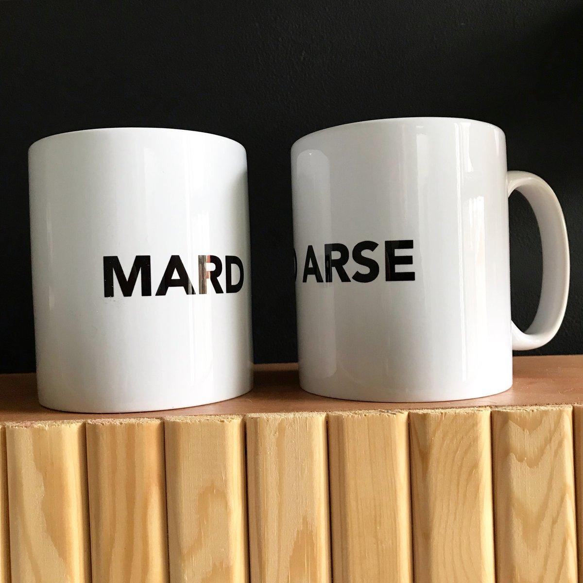 Image of MARD + MARD ARSE mug