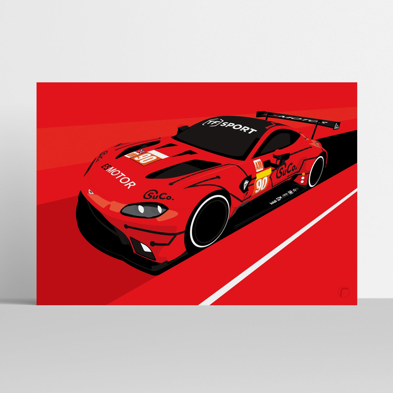 Image of Aston Martin Racing   TF Sport 2019