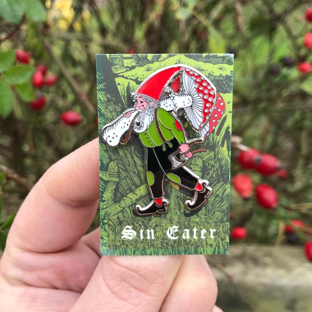 Image of The earth-dweller pin badge