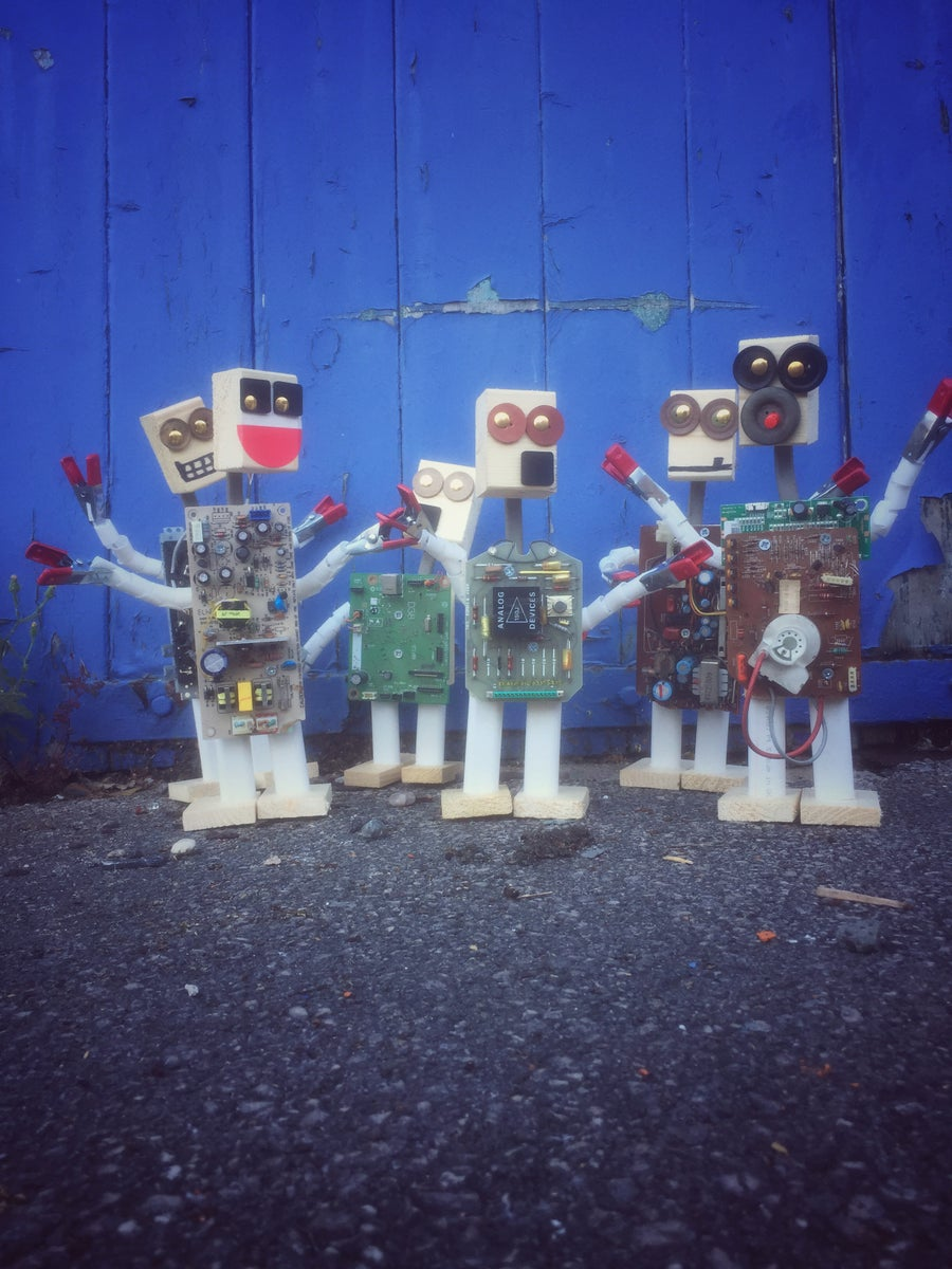 Image of Woody 'bots