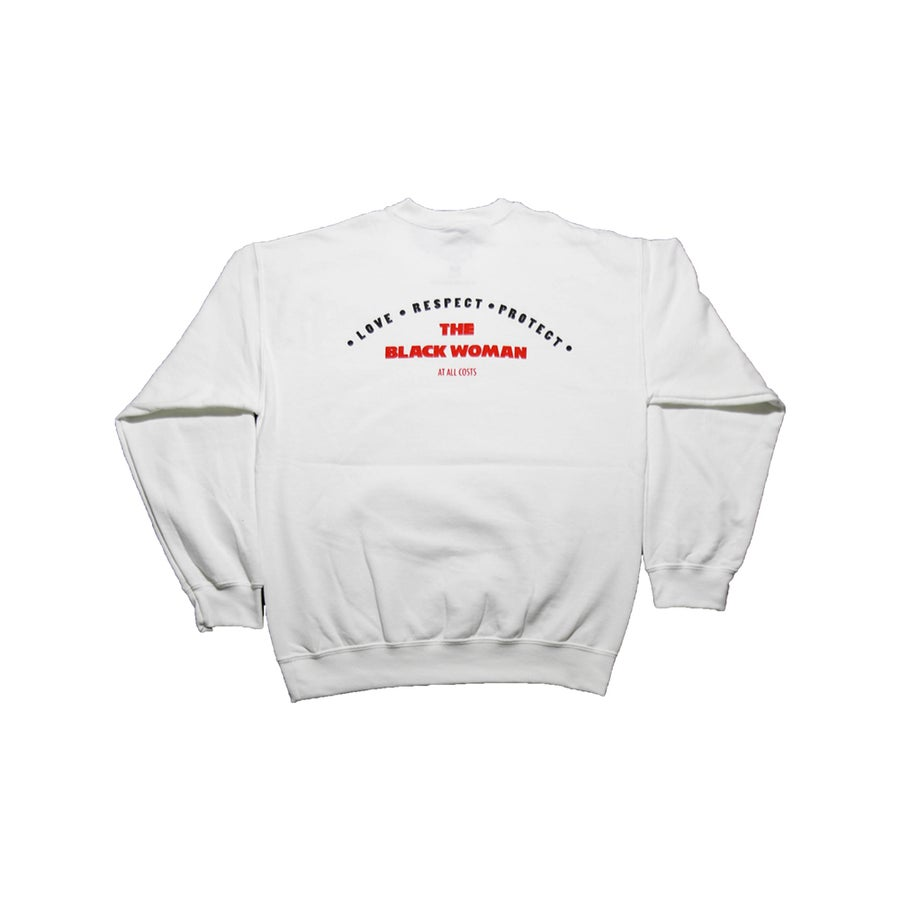 Image of The Black Woman Crewneck