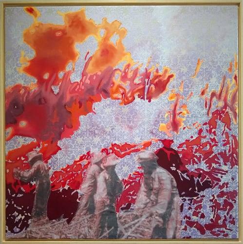 Image of Cane Fire, Hamakua