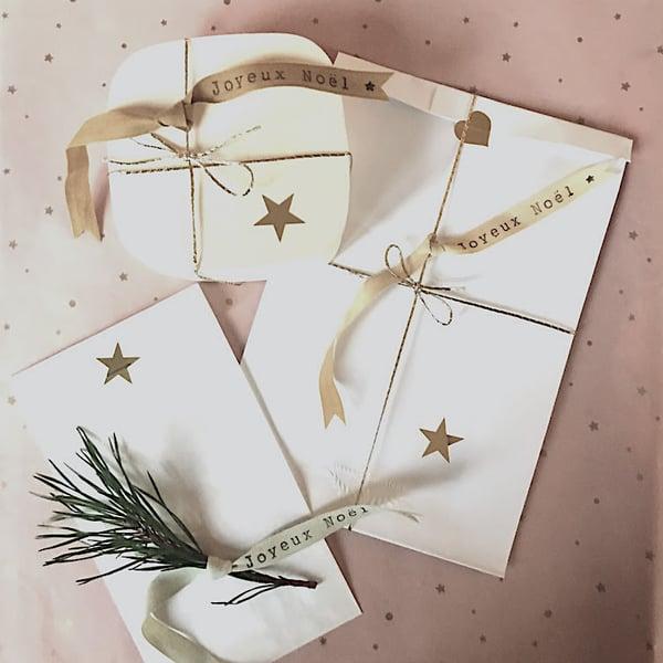 Image of RUBAN MESSAGER Joyeux Noël