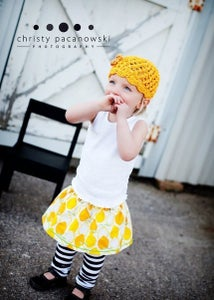 Image of Lovely Lemon - Baby, Toddler, Girls - Boutique Twirl Skirt