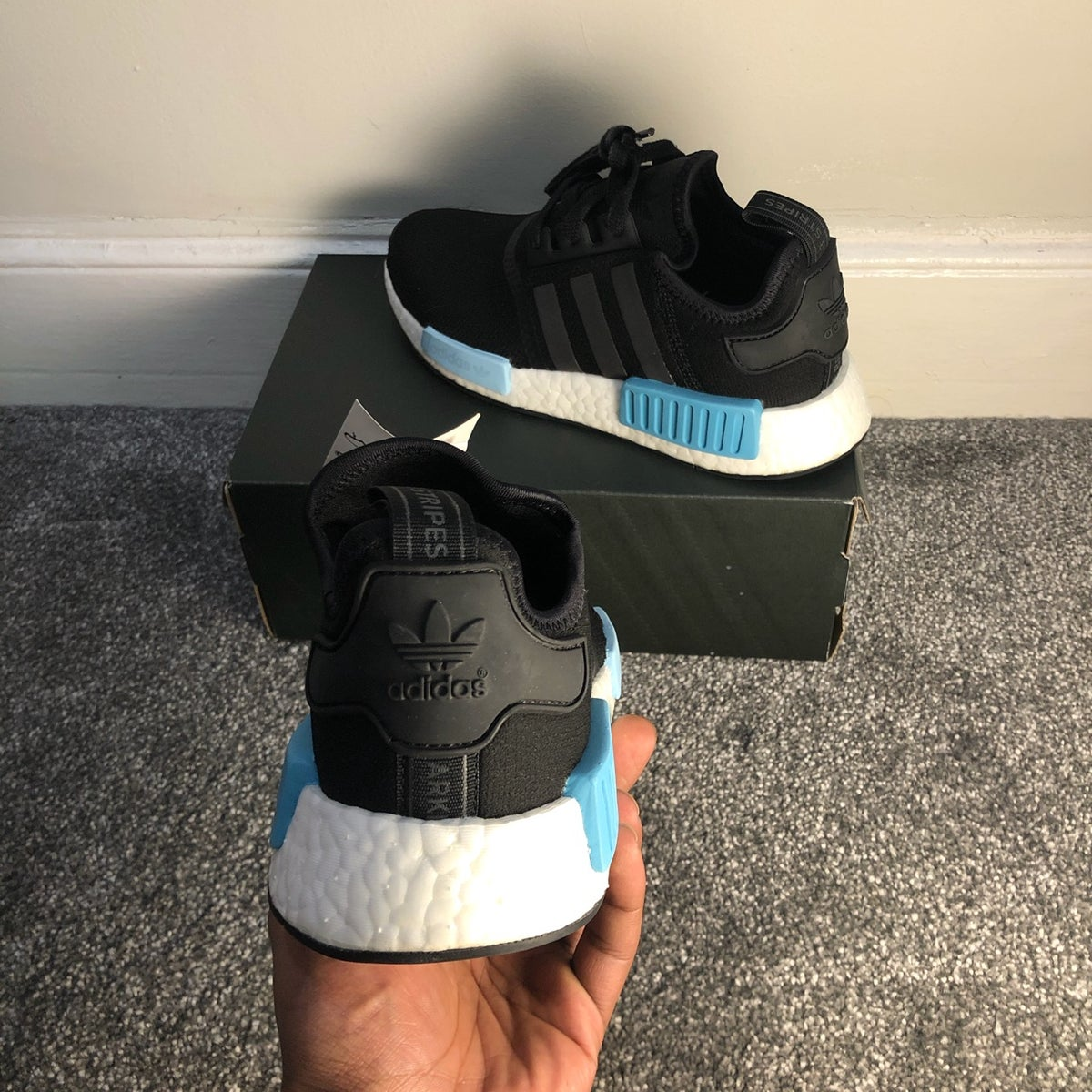 Image of Adidas NMD R1 Ice Blue