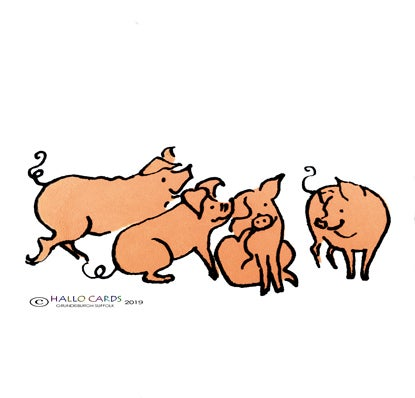Image of Four Little Piglets