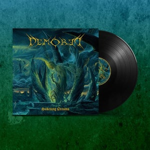 Image of NBR008LP DEMORED - SICKENING DREAMS  Gatefold Black lim to 111 Copies Pre Order
