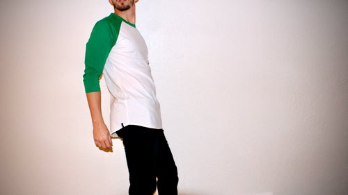 Image of The Kelly Raglan (3/4 Sleeve)