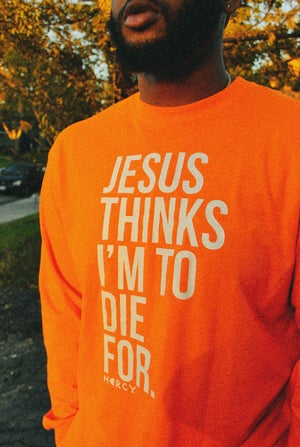 Image of JESUS THINKS- special edition LS