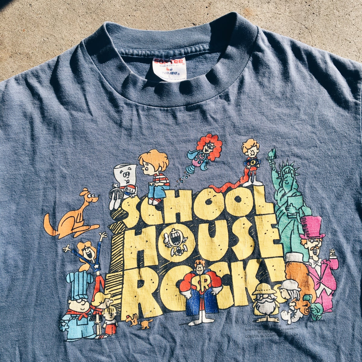Image of Original 1995 School House Rock Tee.