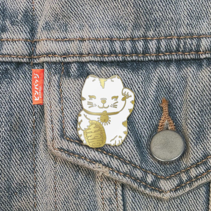 Image of Fortune Cat Pin