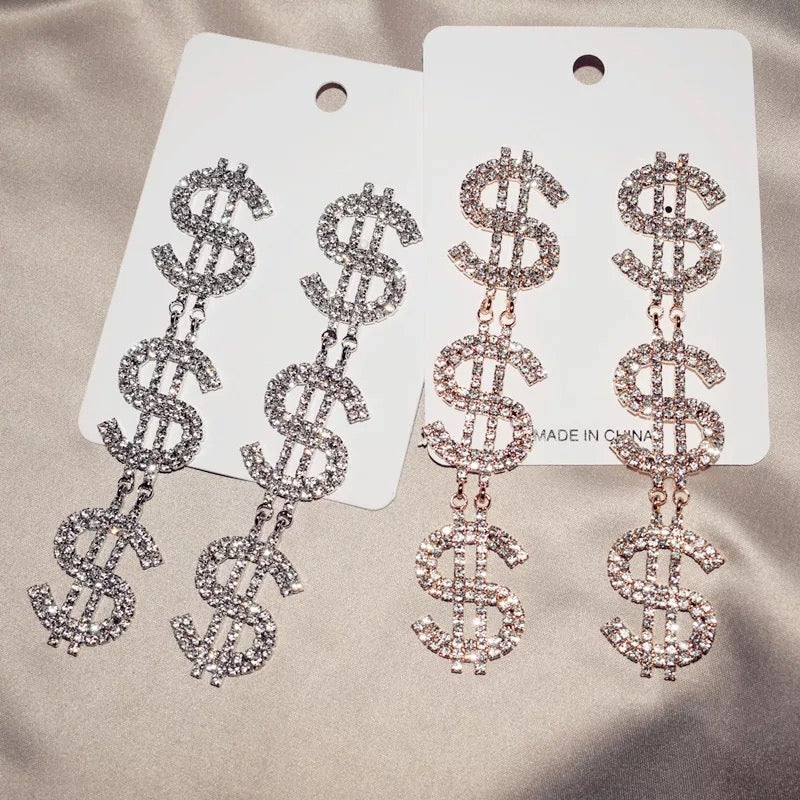 "Image of ""XXXPEN$IVE"" Novelty Earring"