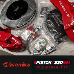 Image of BREMBO - 330MM Front 6 Piston Big Brake Kit