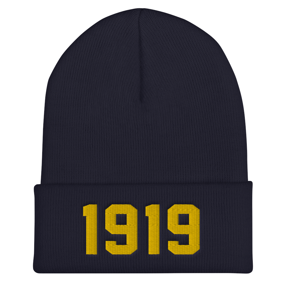 Image of 1919 CUFFED BEANIE (5 COLORS)