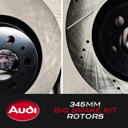 Image of PROJECTB5 - 345mm Audi Big Brake Kit Rotors