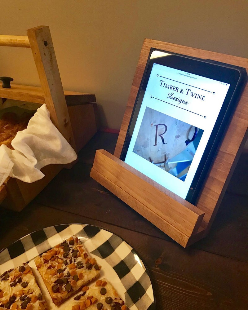 Image of iPad Holder with Initial