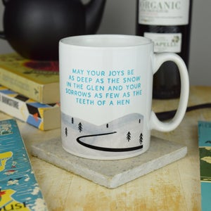 "Image of ""Teeth of a hen"" Mug"