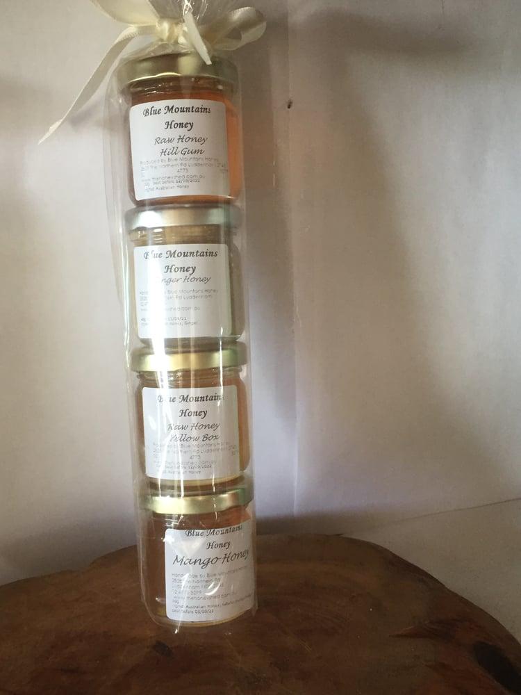 Image of Mini Honey Temper 4 Pack Gift