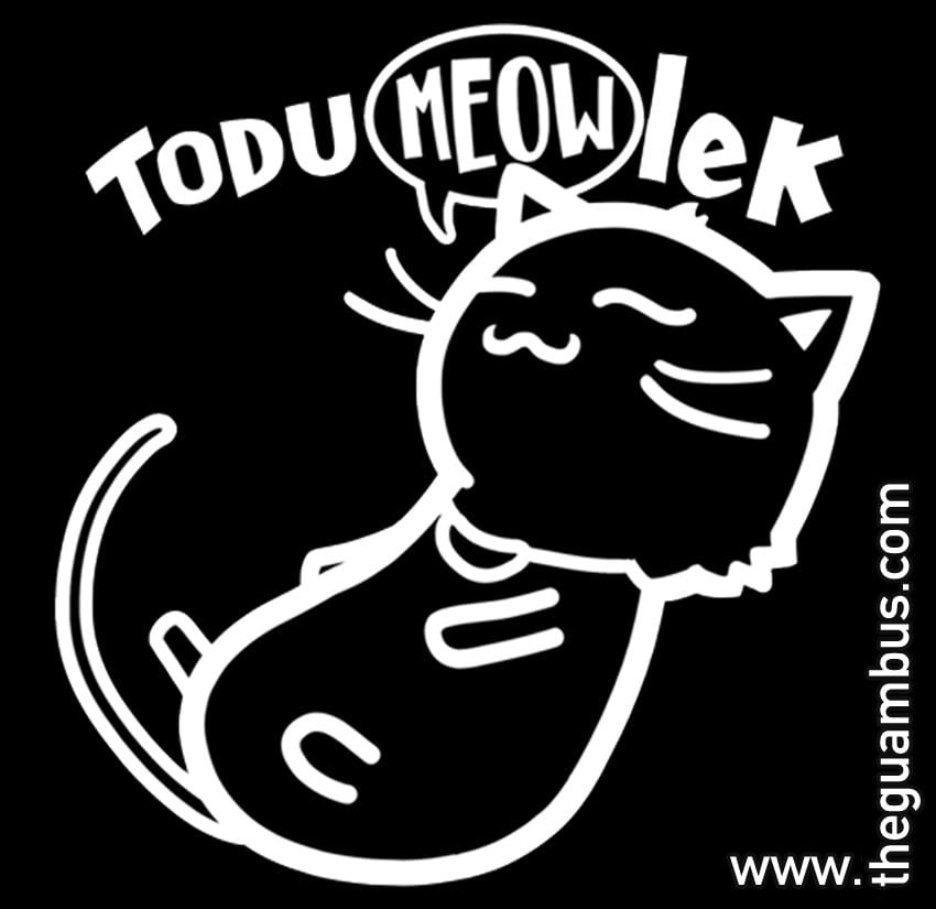"Image of ""Todu MEOW-lek"" Sticker"