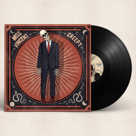 "Image of 'CREEPY' LIMITED 10"" VINYL"