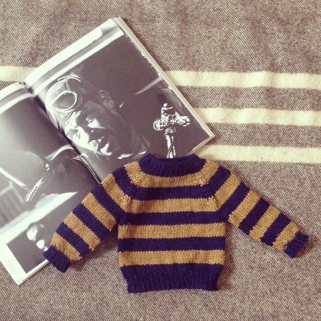 Image of Lee Marvin 'Chino-Niño' Baby Sweater