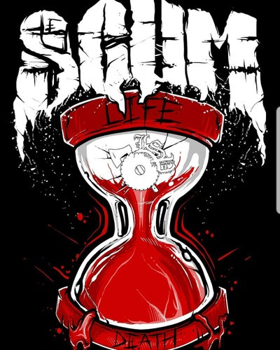 Image of SCUM : LIFE / DEATH    reg shirt