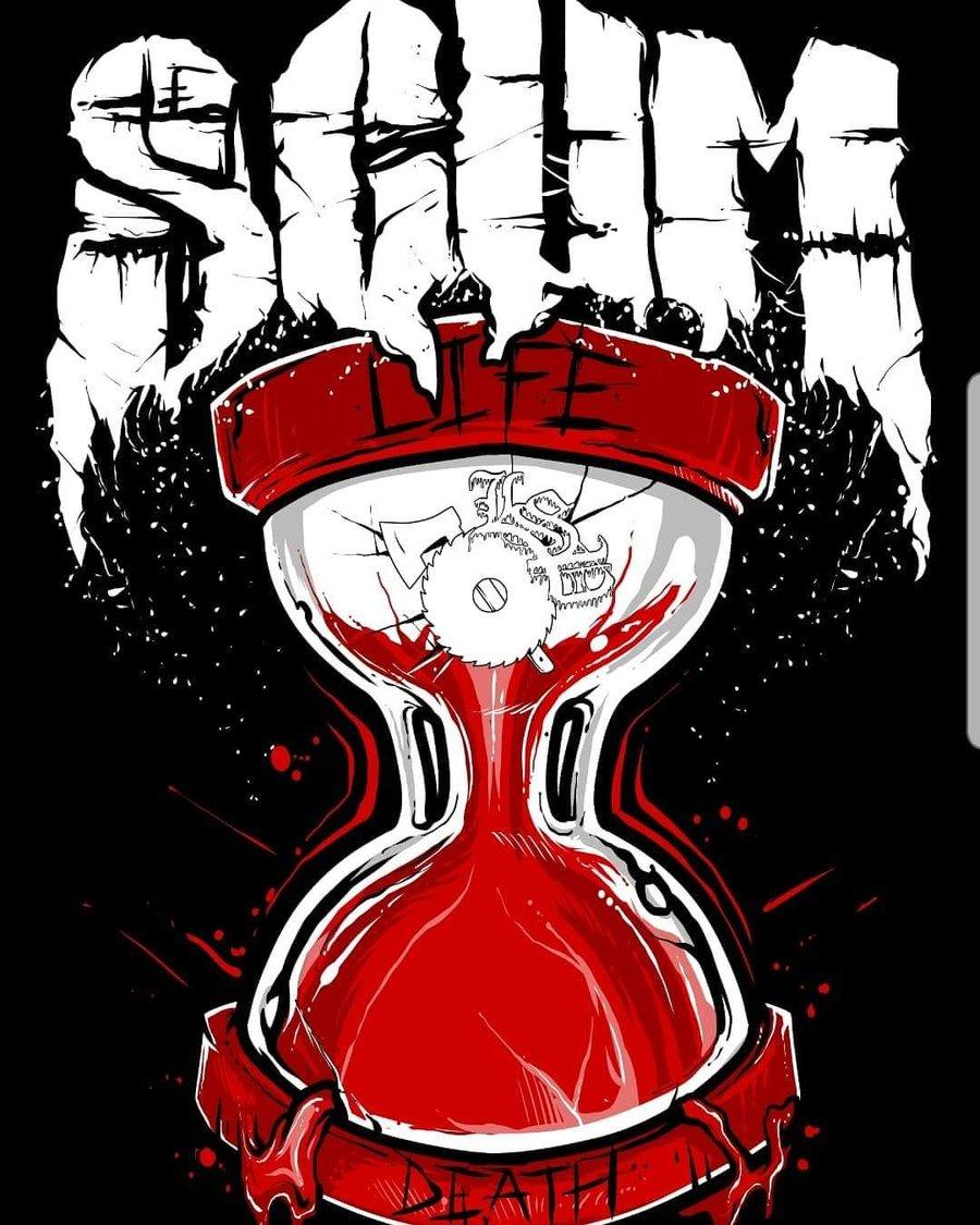 Image of SCUM : LIFE / DEATH    reg shirt