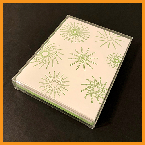 Image of #RESIST SNOWFLAKE CARDS - BOX SET OF 15