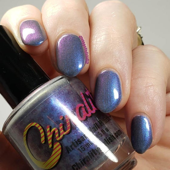 Image of Ethereal - Blurple-Winkle Polish Lovers Facebook Group Custom