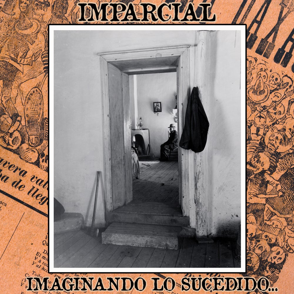 "Image of Imparcial (4 Song EP) - ""Imaginando Lo Sucedido...""                        **w/download card"