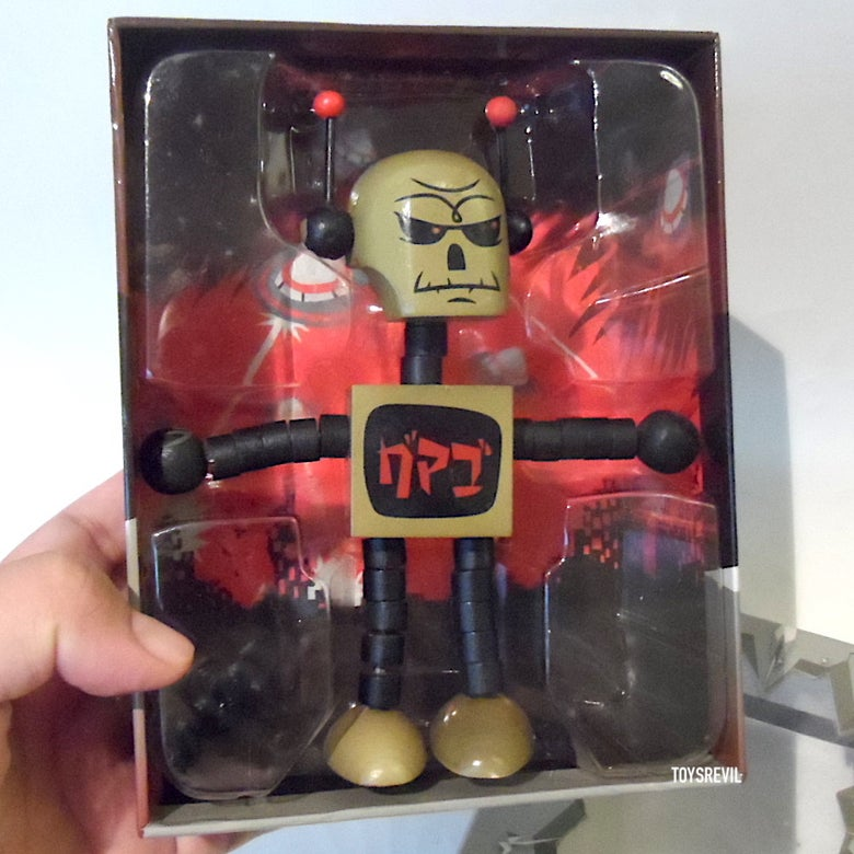 Image of Gama-Go DEATHBOT (Gama-Gold Edition / SDCC 2008)