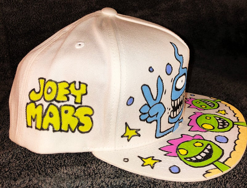 Image of Hand Painted Hat #7