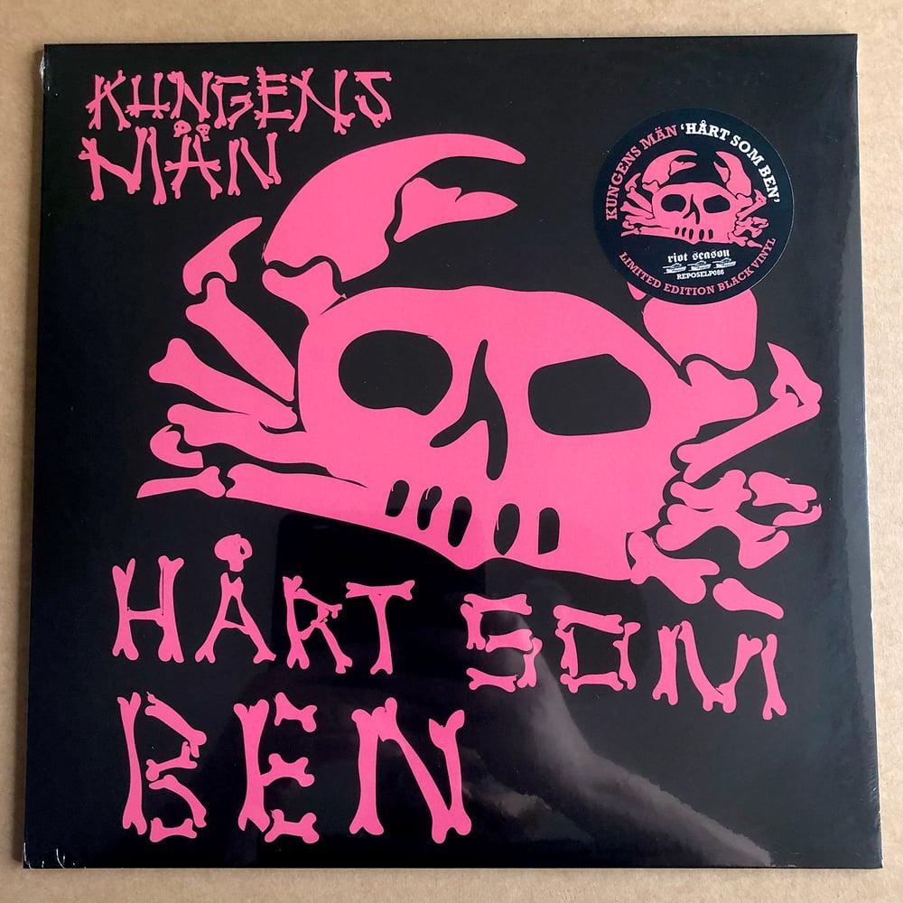 KUNGENS MÄN 'Hårt Som Ben' Vinyl LP (Black)