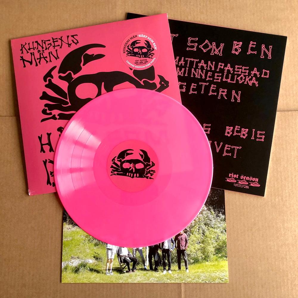 KUNGENS MÄN 'Hårt Som Ben' Vinyl LP (Pink)
