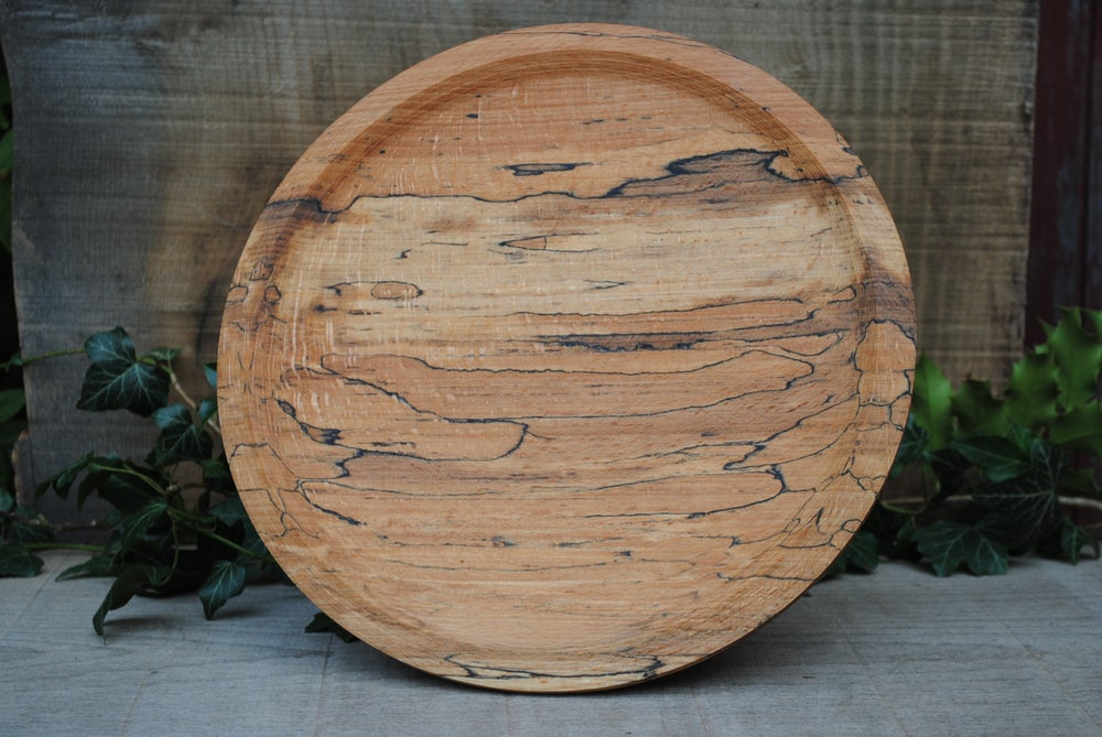 Image of Spalted beech plate I