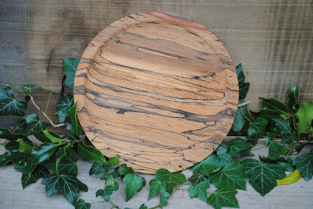 Image of Spalted beech plate III