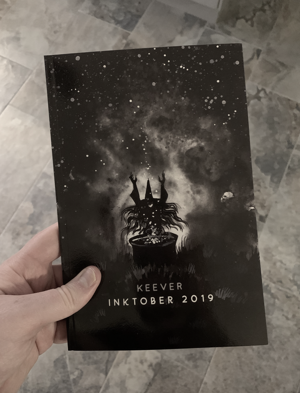 Image of Inktober 2019 Limited Book