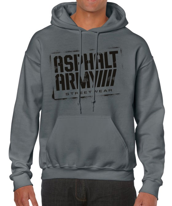 Image of AA Sprayed Logo-HOODIES