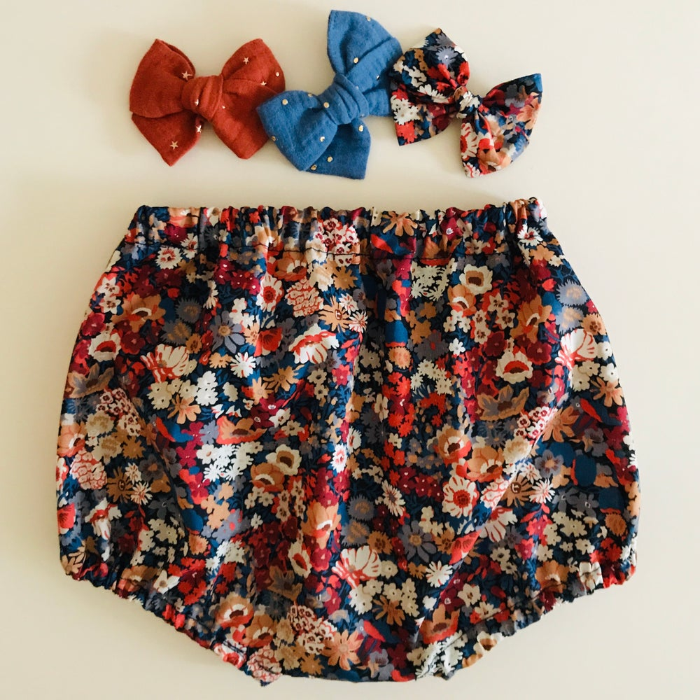 Image of Bloomer & petite jupe Liberty Thorpe rouille