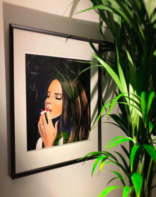Image of I Don't Smoke Limited Edition Poster Print