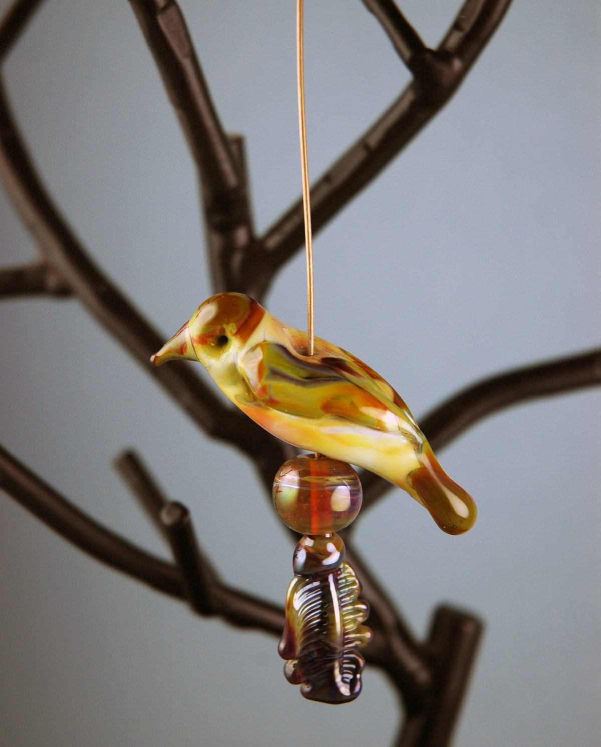 Image of Fantasy Bird (6 beads)