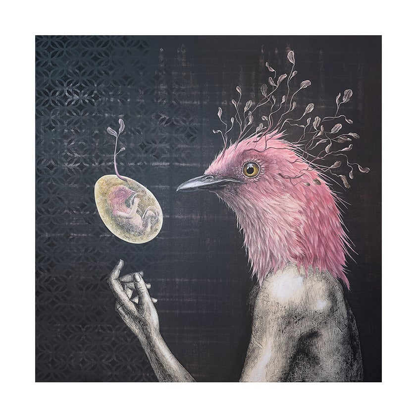Image of L'oeuf ou la poule - TIRAGE FINE ART