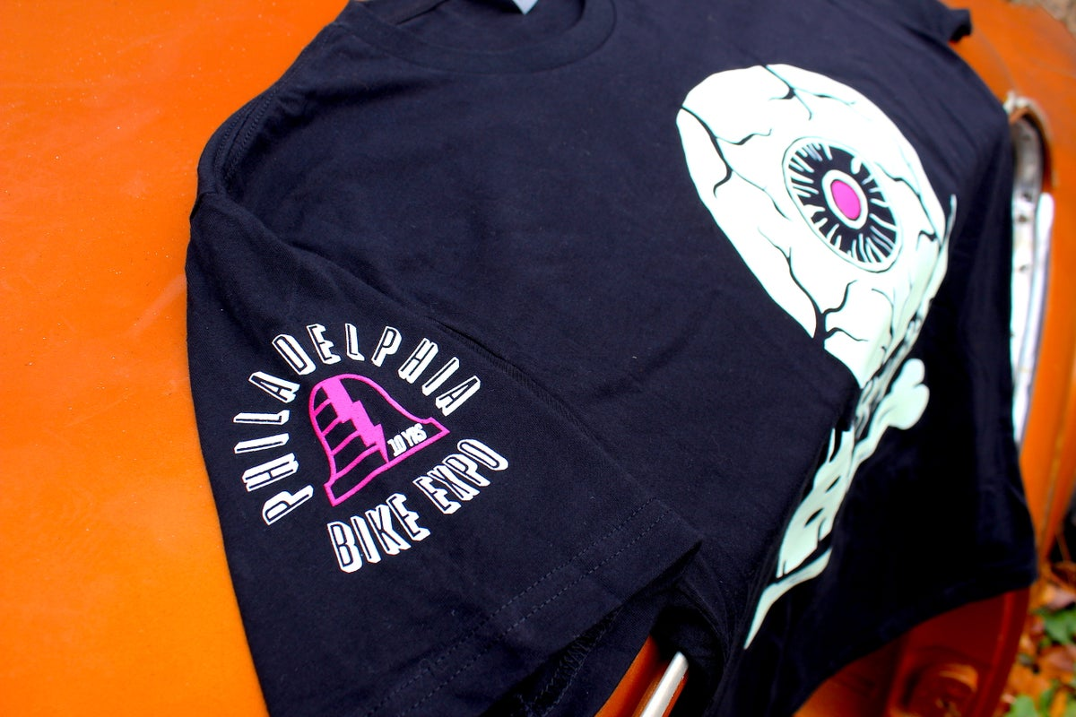 "Image of ""Eye See You"" BMB x Philly Bike Expo 2019 Limited Edition T-Shirt"